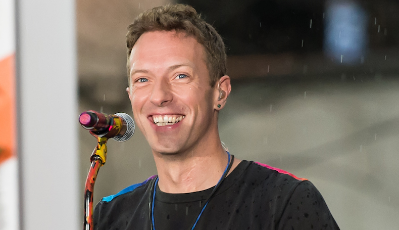 Chris Martin Performs Prince Cover