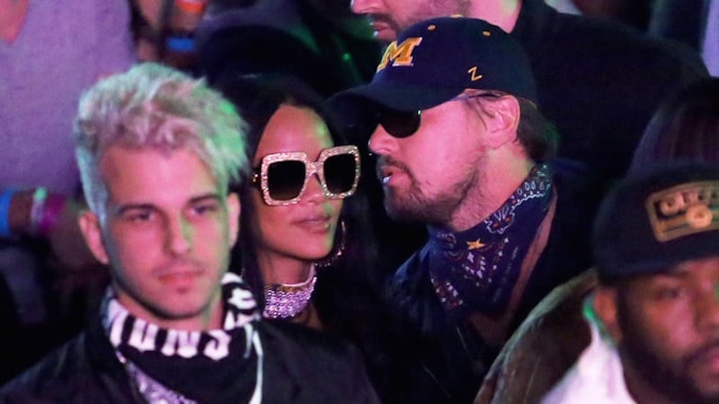Image Gallery leo and rihanna kissing