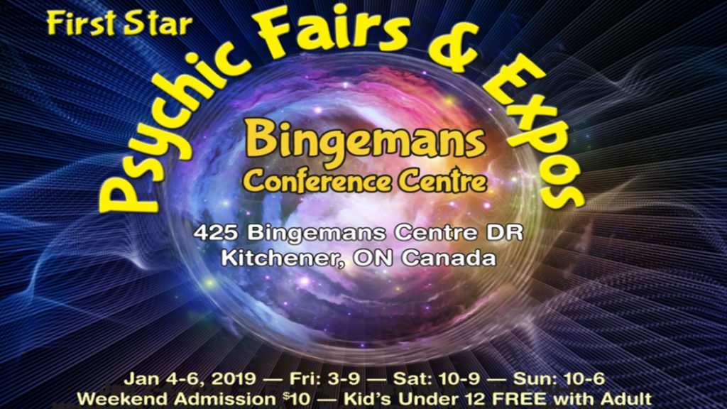 The 27th Annual K-W Winter Psychic Fair & Expo! - CHYM 96 7