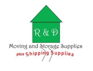 R & D Moving and Storage Supplies plus Shipping Supplies